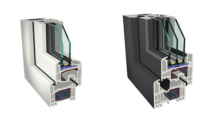 Profile Fenster und Türen